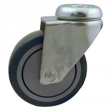 PUR-banehjul med plastfælg