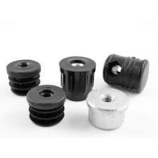 Threaded  inserts for round tubes