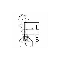 Kugleskrue, dessin 94 A2