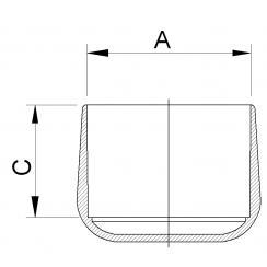 Dupsko, dessin K PVC